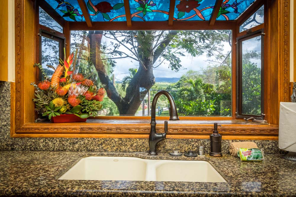 Kahana Nui Kitchen Window View